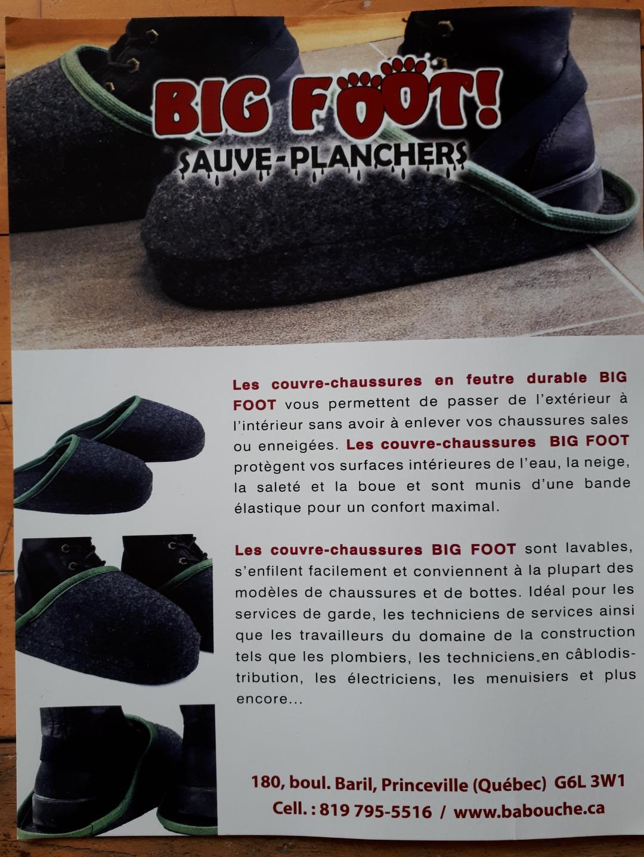 Flyer : BIG-FOOT